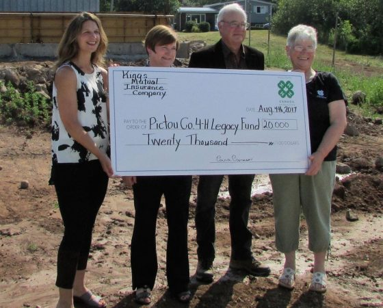 PMCF and Pictou County 4H